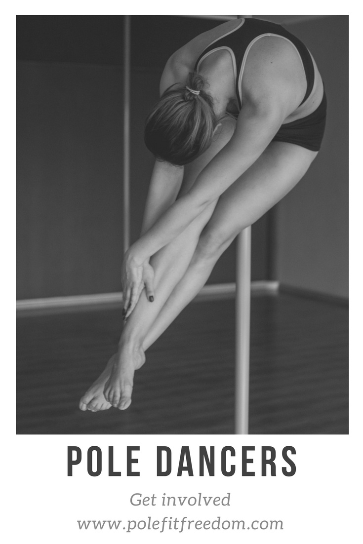 Get involved with pole fit freedom