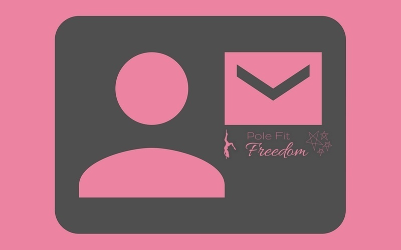 Join Pole Fit Freedom's E-mail List