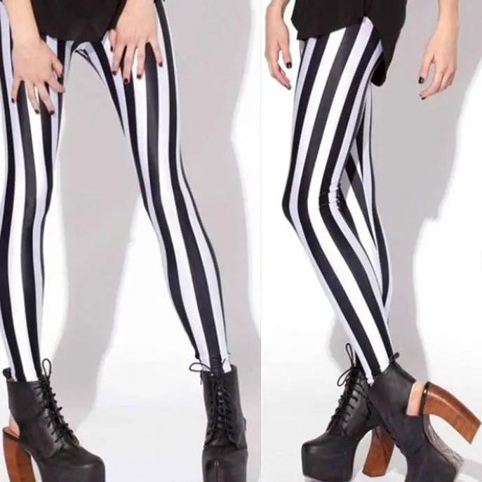 Circus Stripe Leggings