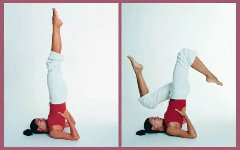 Shoulder stand variations - off-pole conditioning for your shoulder mount