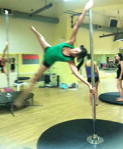 Too Old To Pole Dance?