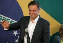 Aécio dá coletiva em São Paulo e inicia campanha do 2º turno