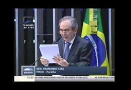 Raimundo Lira explica quais serão os primeiros temas da reforma política a serem votados