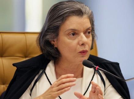 ministraCarmemLucia - Cármem Lúcia assume relatoria de investigação sobre Gleisi Hoffmann