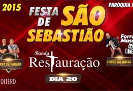 Prefeitura de Alhandra define atrações de Festa de São Sebastião, padroeiro do bairro do Oiteiro