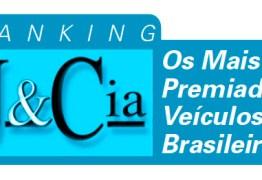 QUEM SÃO OS MAIS PREMIADOS VEÍCULOS DO BRASIL ? Pela segunda edição consecutiva, Folha de S.Paulo é o primeiro lugar