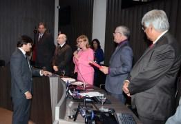 Presidente Fátima Bezerra empossa o juiz de Direito Jeremias de Melo