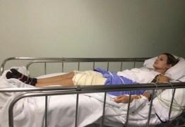 IMAGENS FORTES: Agencia divulga fotos de Andressa Urach no hospital