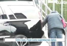 Motorista bate novo carro de Lionel Messi – VEJA VÍDEO
