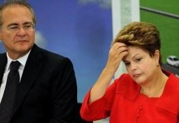 Renan cobra Dilma sobre terceirização