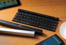 """Parece magia – LG lança teclado que se transforma em """"varinha"""