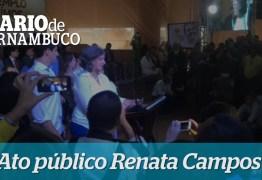 VEJA VÍDEO – Renata Campos se emociona em depoimento sobre Eduardo Campos