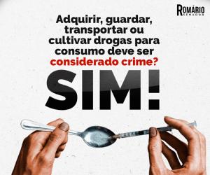 11990507 888967194531586 1309819420381648951 n 300x250 - Romário é contra discrimilização do porte de drogas
