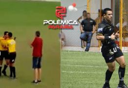 VÍDEO – Árbitro de futebol saca revólver durante partida