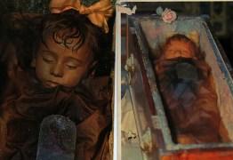 Mistério – corpo de criança morta há 94 anos abre e fecha os olhos todos os dias. Entenda