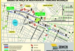VEJA VÍDEO: Confira como vai ficar o trânsito centro da cidade