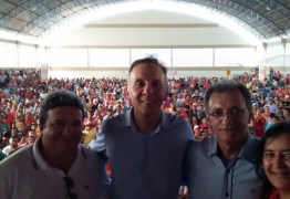Em evento na cidade de São Bento, Aguinaldo Ribeiro e Galego Souza filiam três vereadores ao PP