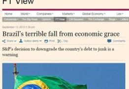 Brasil é doente em estado terminal, diz 'Financial Times'