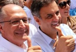 Aécio Neves nega divisão do PSDB e projeta Geraldo Alckmin como candidato à presidência