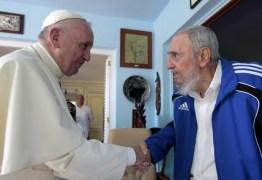 Papa se encontra com ex-presidente Fidel Castro e diz: …sirvam às pessoas, e não às ideias