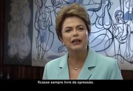 VEJA VÍDEO: Em pronunciamento, Dilma diz que voto é único método de eleger governantes