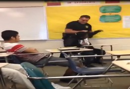 VEJA VÍDEO: Aluna é agredida dentro de escola por policial