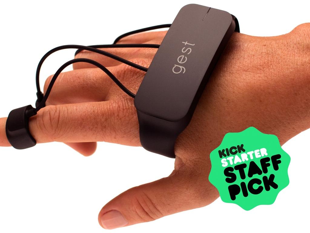 Gest - Dispositivo permite a usuário controlar computadores com os gestos