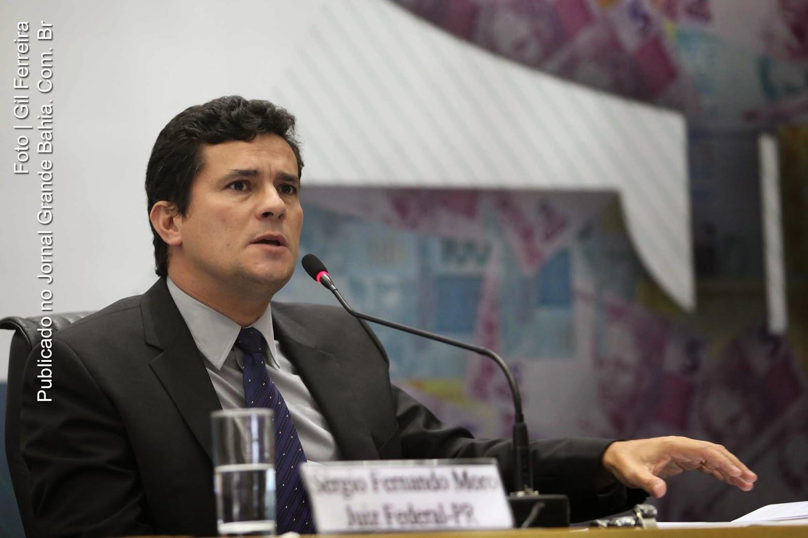 Sérgio Fernando Moro. - Sérgio Moro: Importante que as autoridades eleitas e os partidos ouçam a voz das ruas