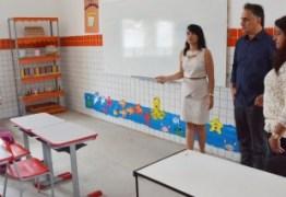 Prefeito entrega reforma e climatização de escola no Cristo e beneficia 850 estudantes