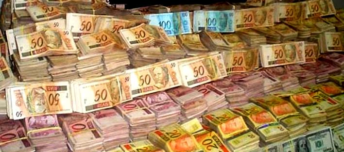 dinheiro - Em dois anos, Lava-Jato consegue devolução de R$ 2,9 bi desviados