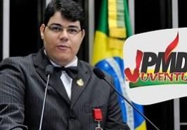 dihego amarantojpmdb - Presidente do PMDB Jovem viaja para Brasília e apoia candidato nordestino para presidência do partido
