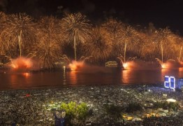RÉVEILLON MUNDIAL:  Queima de fogos de 16 minutos abriu o ano olímpico do Rio