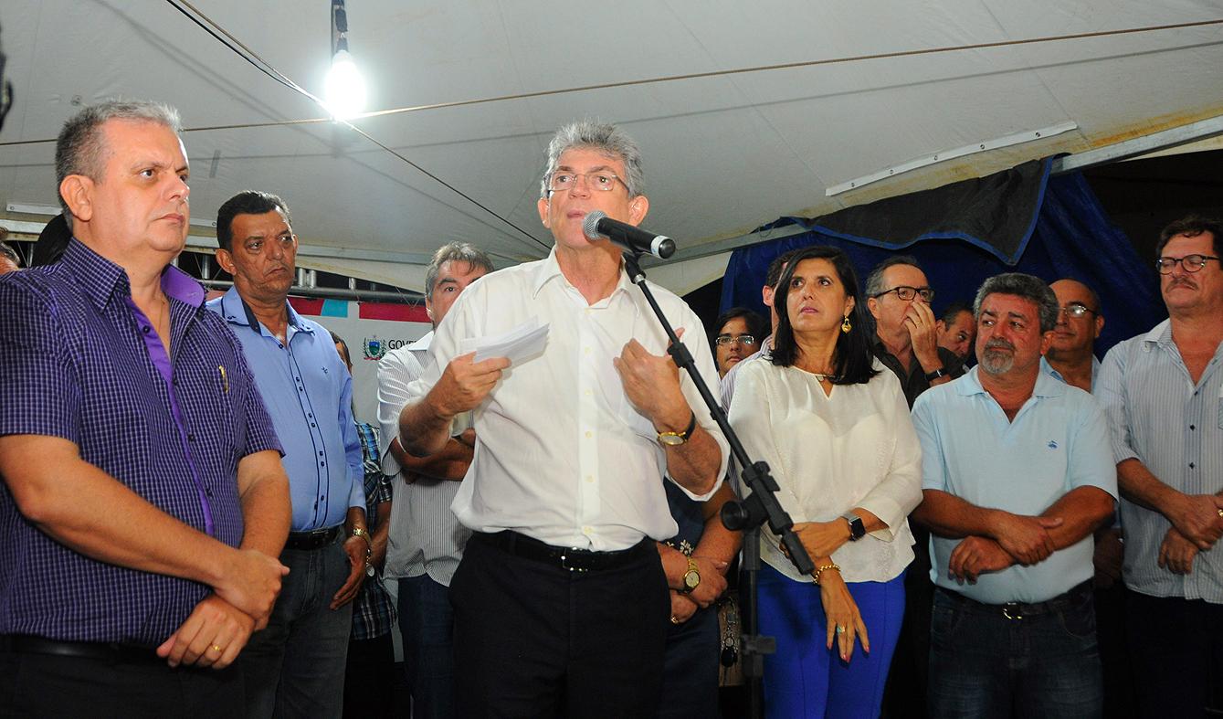 MASSARANDUBA1  - Ricardo inaugura estrada que beneficia mais de 100 mil habitantes da Região Metropolitana de Campina Grande