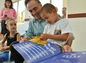 cartaxo crei - Prefeito entrega creche reformada no bairro de Mangabeira IV beneficiando 130 crianças