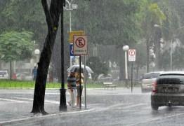 Na Paraíba, previsão de chuvas é acima da média para março, abril e maio