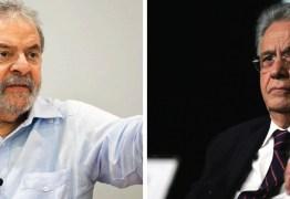 FHC afirma que Lula cometeu suicídio político