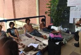 Greve de fome de estudantes da UFPB chega ao terceiro dia