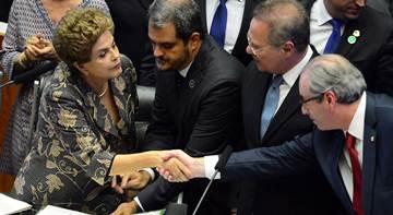 20160202192044562344u - Em abertura do ano legislativo, Dilma conversa com Renan e evita Cunha