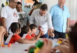 Prefeito entrega reforma de creche e beneficia 100 crianças do Bairro das Indústrias