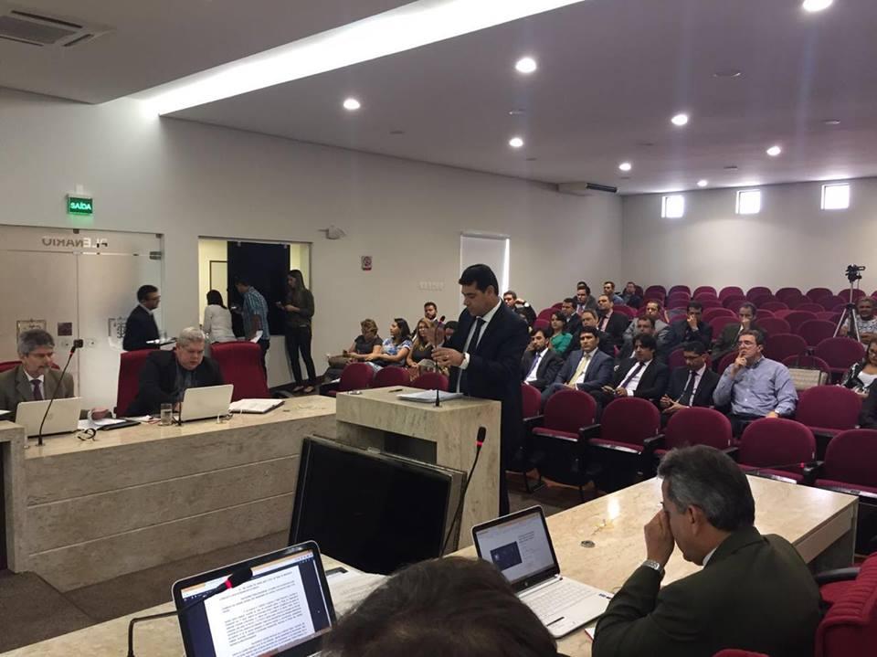 TCE contas de Ricardo 2016 - Pleno do TCE reúne-se  para apreciar contas de Ricardo sem Fernando Catão