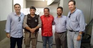 Vistoria no Almeidão 1 300x156 - ALMEIDÃO LIBERADO: CBF volta atrás e libera torcedores no Estádio