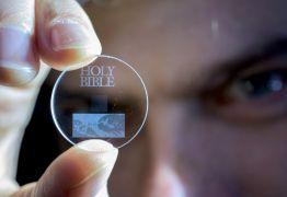 Disco 5D guarda dados por mais de 13 bilhões de anos