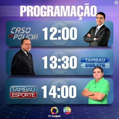 ffc7501b1b20160210102703 - NOVIDADES NA TV: 'TAMBAÚ DEBATE' GANHA NOVO FORMATO, COM MAIS INFORMAÇÕES E CONVIDADOS