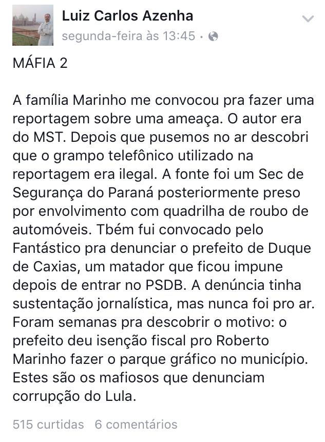 image21 - Jornalista denuncia postura anti-Lula da Rede Globo e corrupção da família Marinho