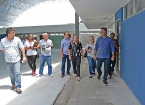 image37 - Prefeito visita obras do Centro Cultural e destaca que local trará novo momento para cultura na zona sul
