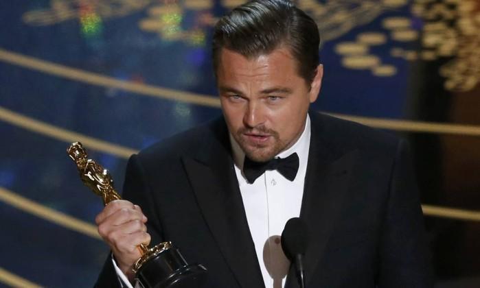 leonardo de Caprio - DiCaprio vence seu primeiro Oscar; 'Spotlight' leva como melhor filme