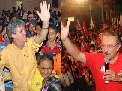 ricardo e zé - Está por um fio a aliança do senador Zé Maranhão com o governador RC - Por Helder Moura
