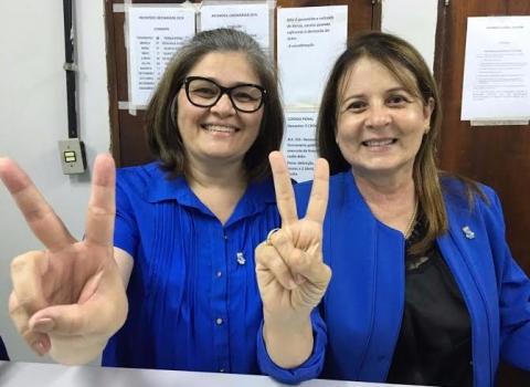 """201603041013040000004773 - ELEIÇÃO UFPB: Margareth e Bernardina registram Chapa """"UFPB Muito Mais"""""""