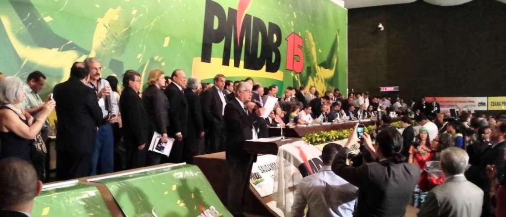 Convenção PMDB 1024x439 - Convenção Nacional deve oficializar saída do PMDB do governo