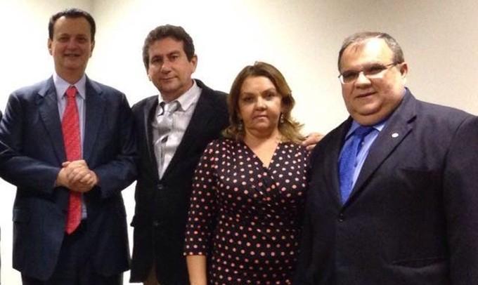 Kassab e romulo e1458139425337 - Kassab cumpre agenda na Paraíba - Ministro estará em Sousa